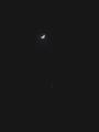 [天文][月]月と金星 20090101