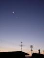 [天文][月]090228月と金星