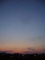 [夕焼け][空]夕焼け