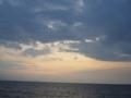 [海][空][風景]夜明けの海1