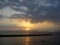 [海][空][風景]夜明けの海3