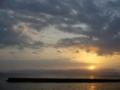 [海][空][風景]夜明けの海4