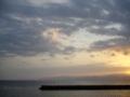 [海][空][風景]夜明けの海5