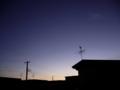 [風景][自然][天文]夜明けとアルクトゥールス