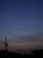 [宇宙][天文][月]金星と細い月