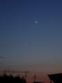[天文][宇宙][月]金星と細い月1
