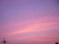 [空][夕焼け]赤い夕暮れ1