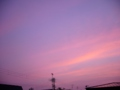 [空][夕焼け]赤い夕暮れ2