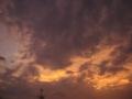 [空][夕焼け]オレンジ色の夕焼け空