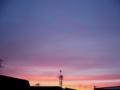 [空][夕焼け]今日の赤い夕焼け空