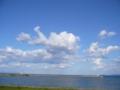 [空][海][風景]青い空と海1