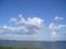 青い空と海1