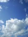 [空]青い空白い雲2
