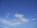 [空]青い空と白い雲