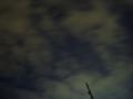 [宇宙][天文][空]雲ごしのISS