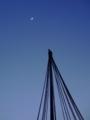 [空][月][天文][冬]4日月