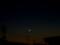 夕空に月齢2の月