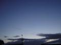 [空][夕焼け]夕方の青空