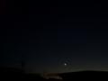 [宇宙][天文][空][月]月齢2の細い月