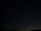 細い月とISS 3