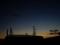 夕焼け空の宵の明星