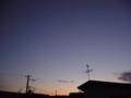 [空][風景][自然]2012年の夜明け