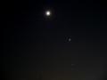 [宇宙][天文][空][月]月・すばる・金星・木星