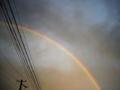 [空][夕焼け][虹]台風の後の虹2