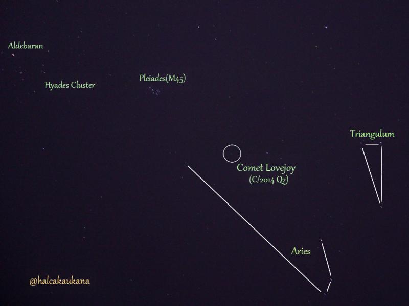 ラヴジョイ彗星(C/2014 Q2)