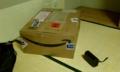 [twitter] 巨大 Amazon 箱来た
