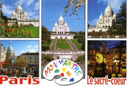 パリの絵葉書