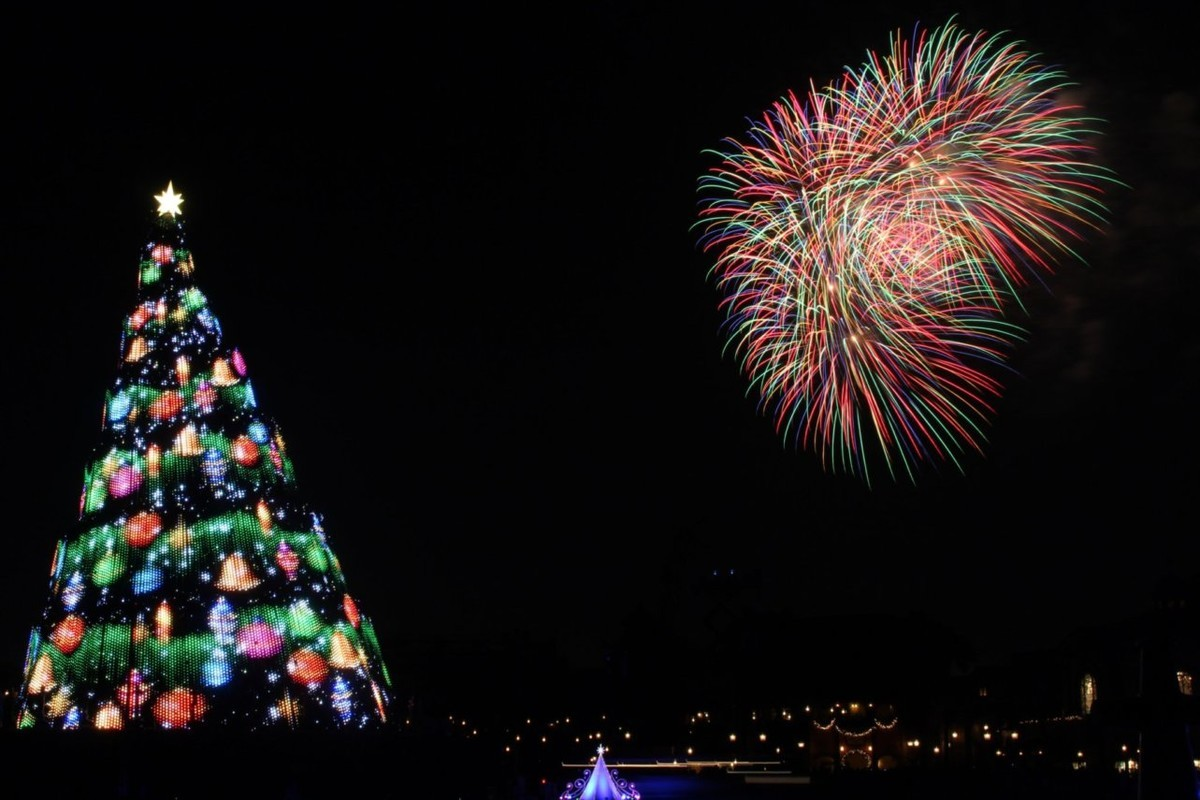 スターブライトクリスマス,花火