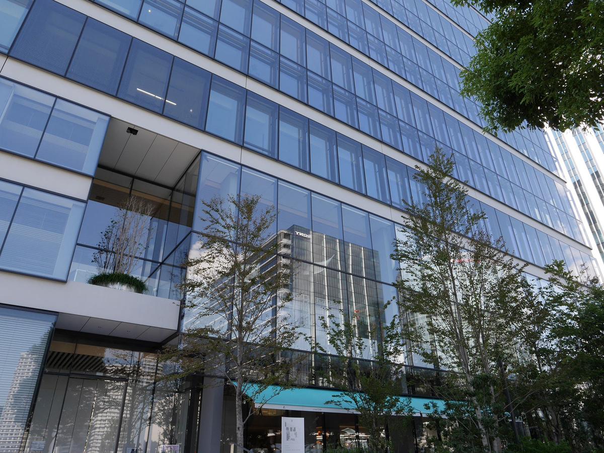 資生堂グローバルイノベーションセンター S/PARK(エスパーク)外観