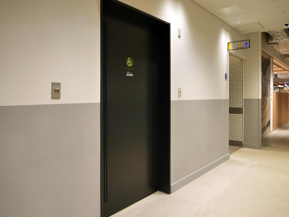 横浜ハンマーヘッド 多目的トイレ 1階