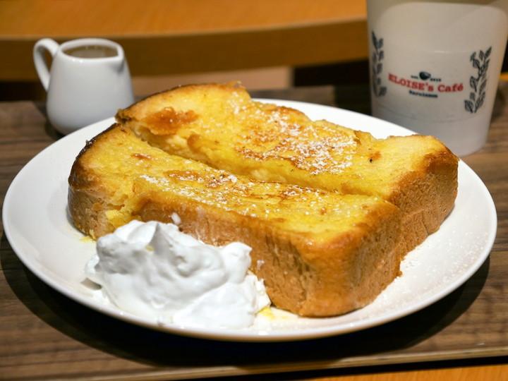横浜ハンマーヘッド エロイーズカフェ フレンチトースト