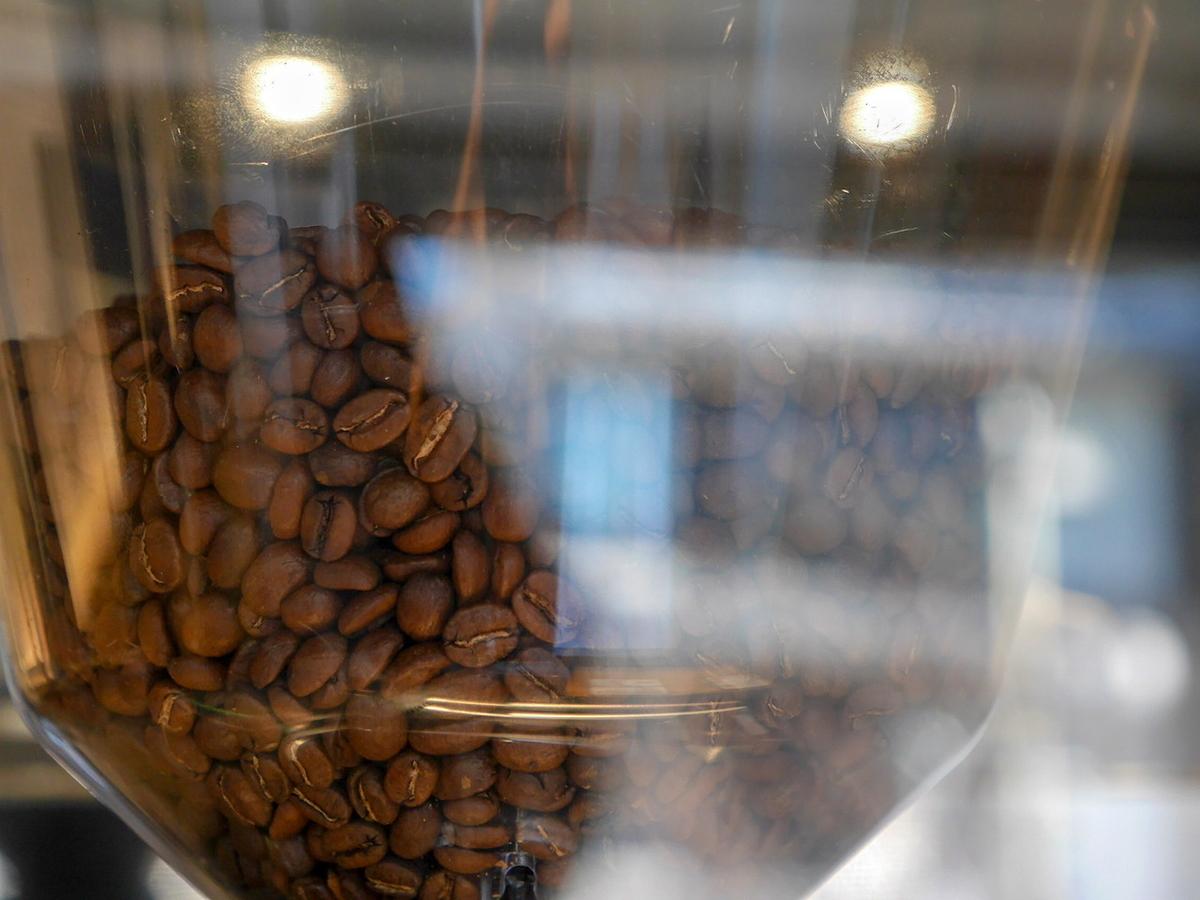 サロンドクルミッ子で使用している「タックビーンズ」のコーヒー豆