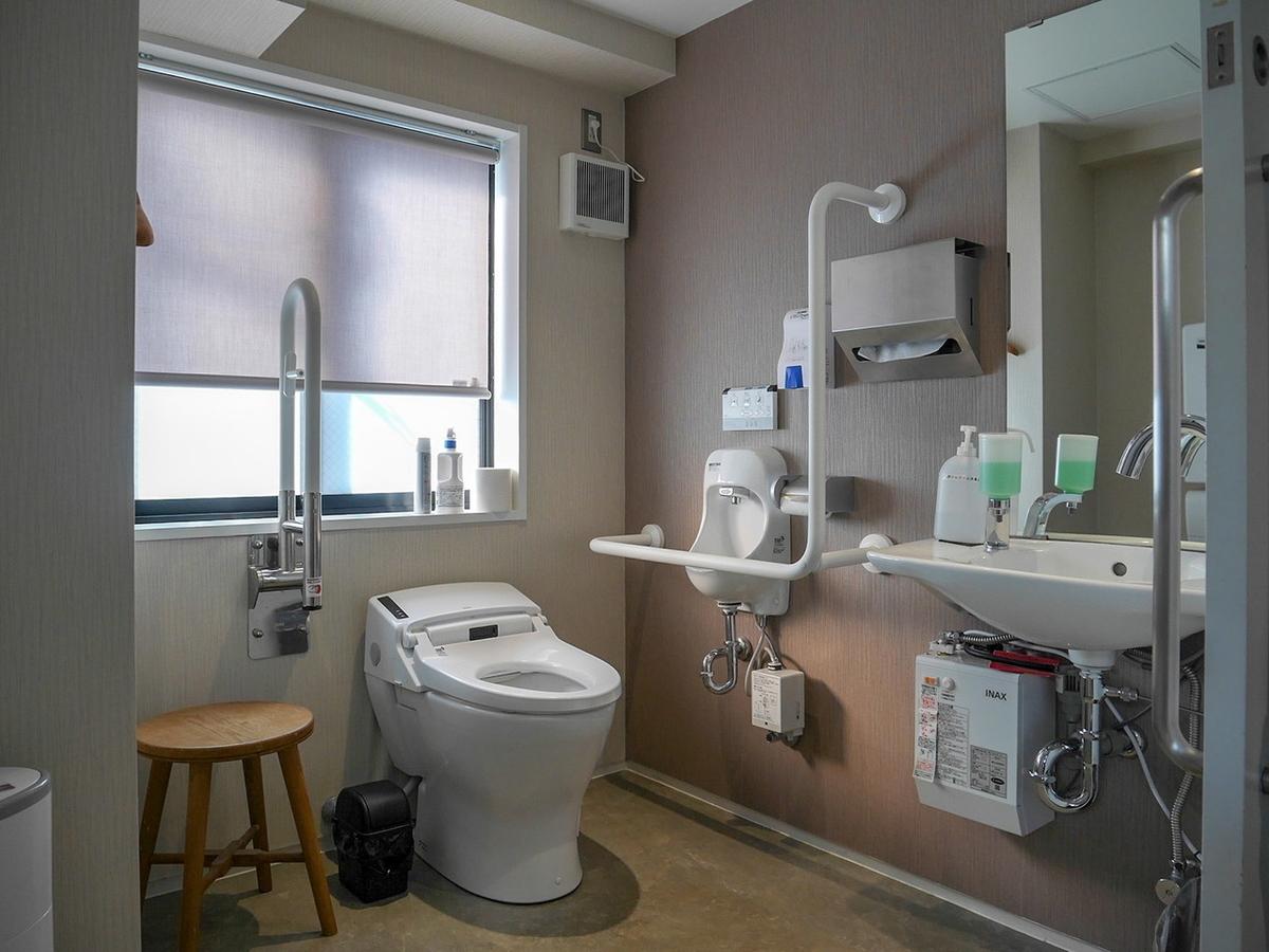 サロンドクルミッコ 多目的トイレ