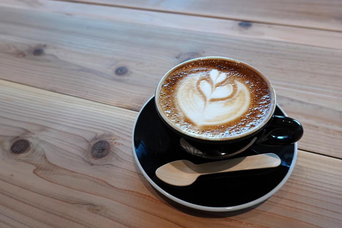 ゼブラ コーヒーアンドクロワッサン カフェラテ