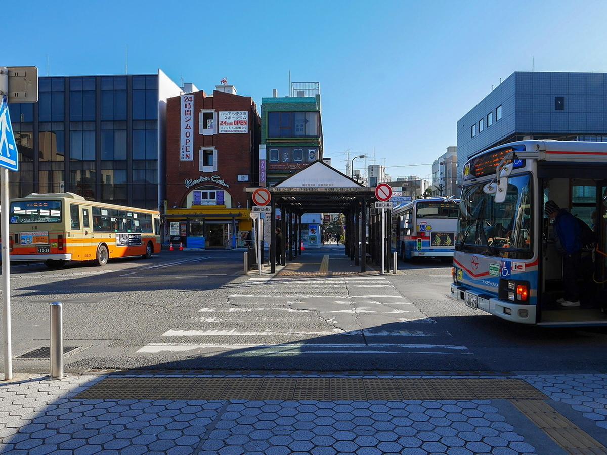 鎌倉駅東口からサロンドクルミッコ アクセス