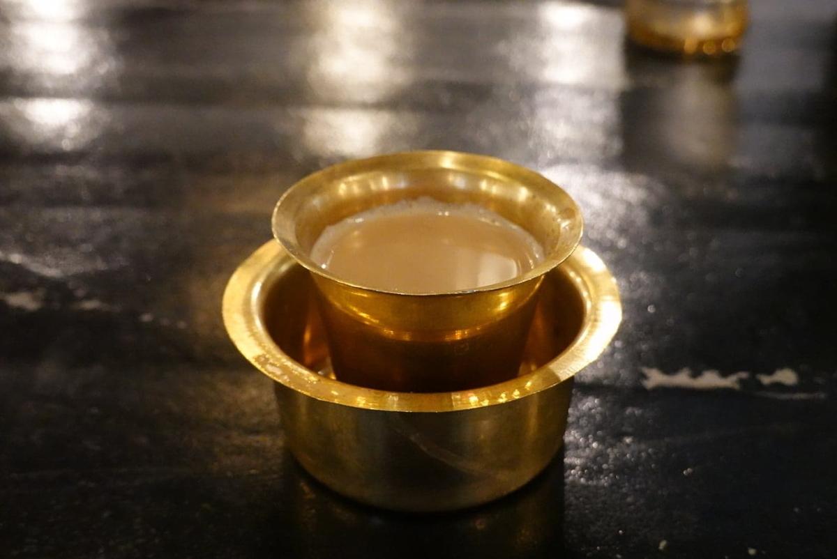 南インド料理店 ボーディセナ マサラチャイ