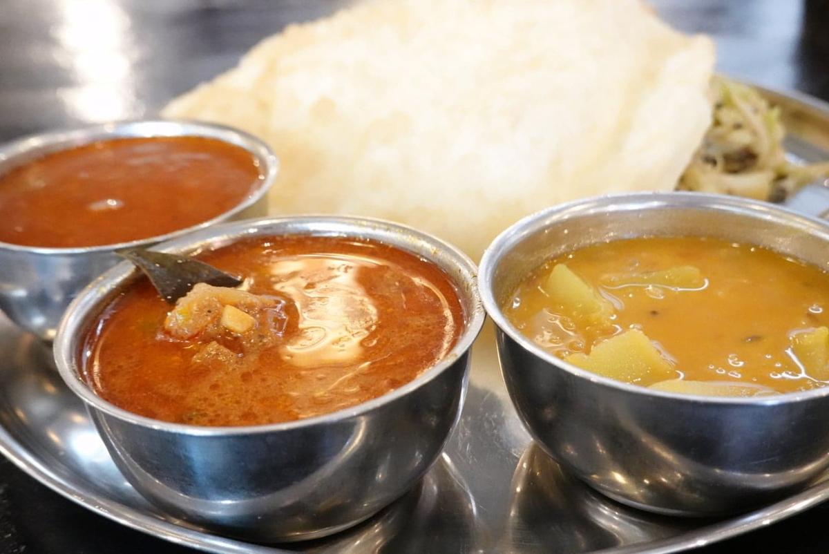 南インド料理店 ボーディセナ 平日ランチ