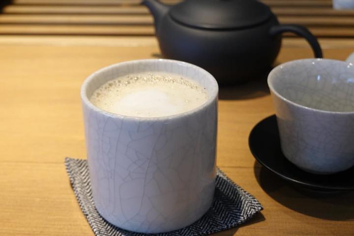 ほうじ茶ラテ(600円税込)
