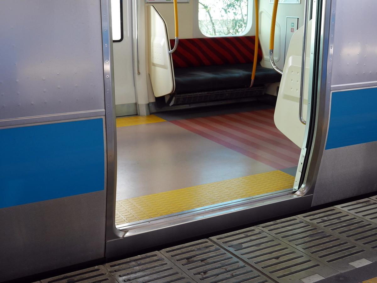 電車の段差