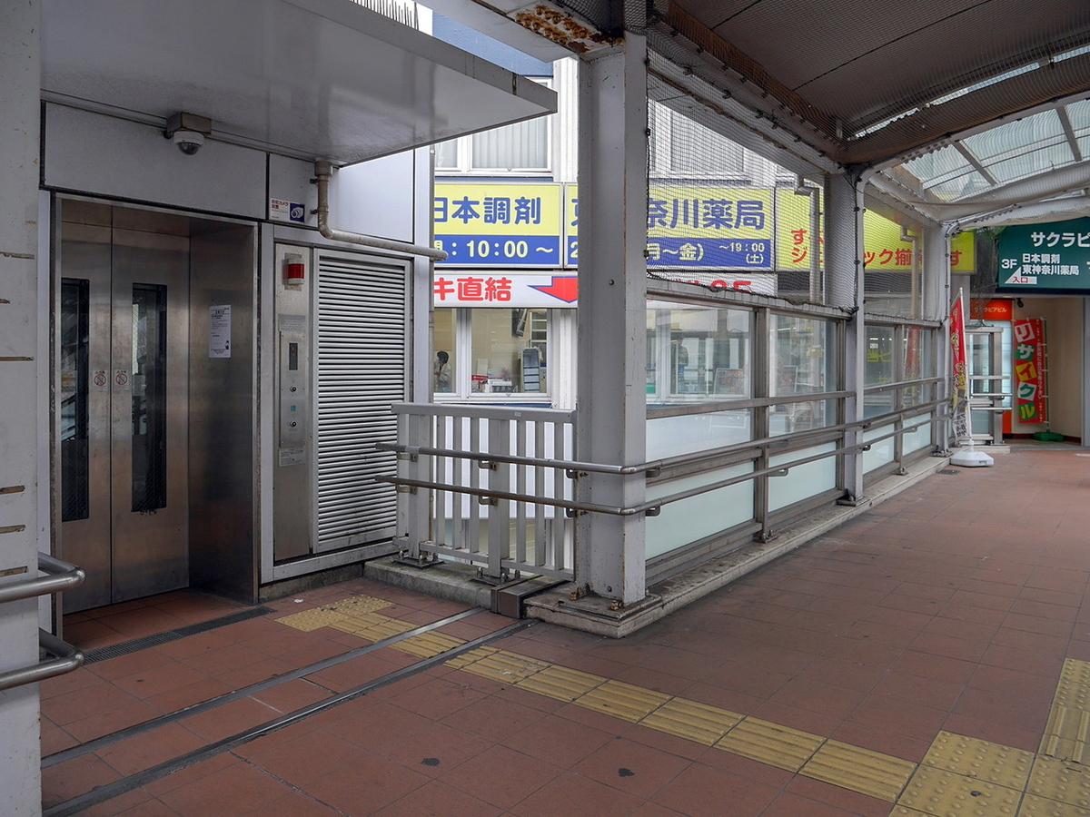 JR東神奈川駅 西口