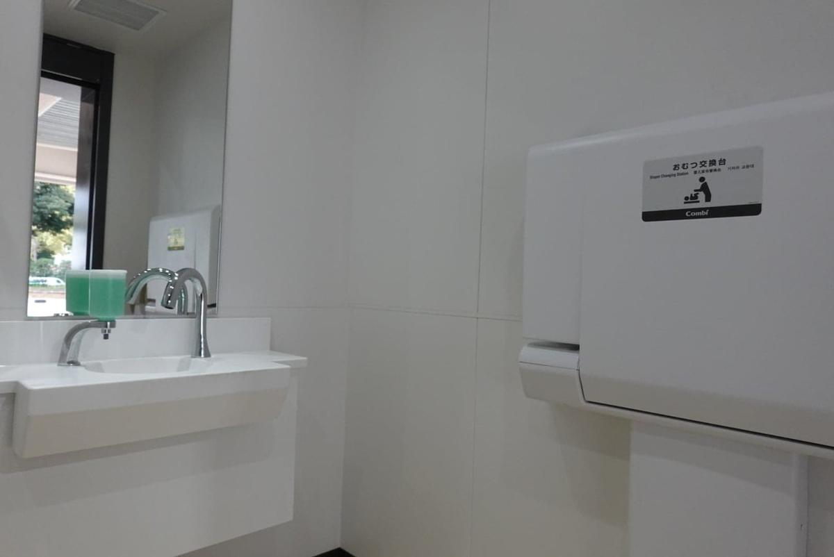 横浜スタジアム 正面入口 多目的トイレ
