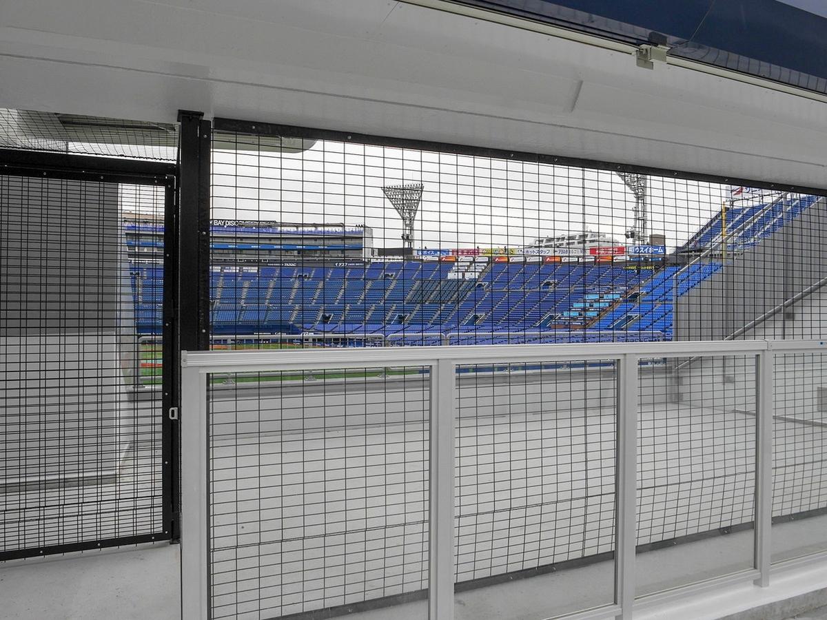 横浜スタジアム Yデッキ ドリームゲートスタンド