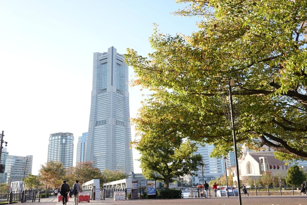 横浜・みなとみらい21地区 汽車道