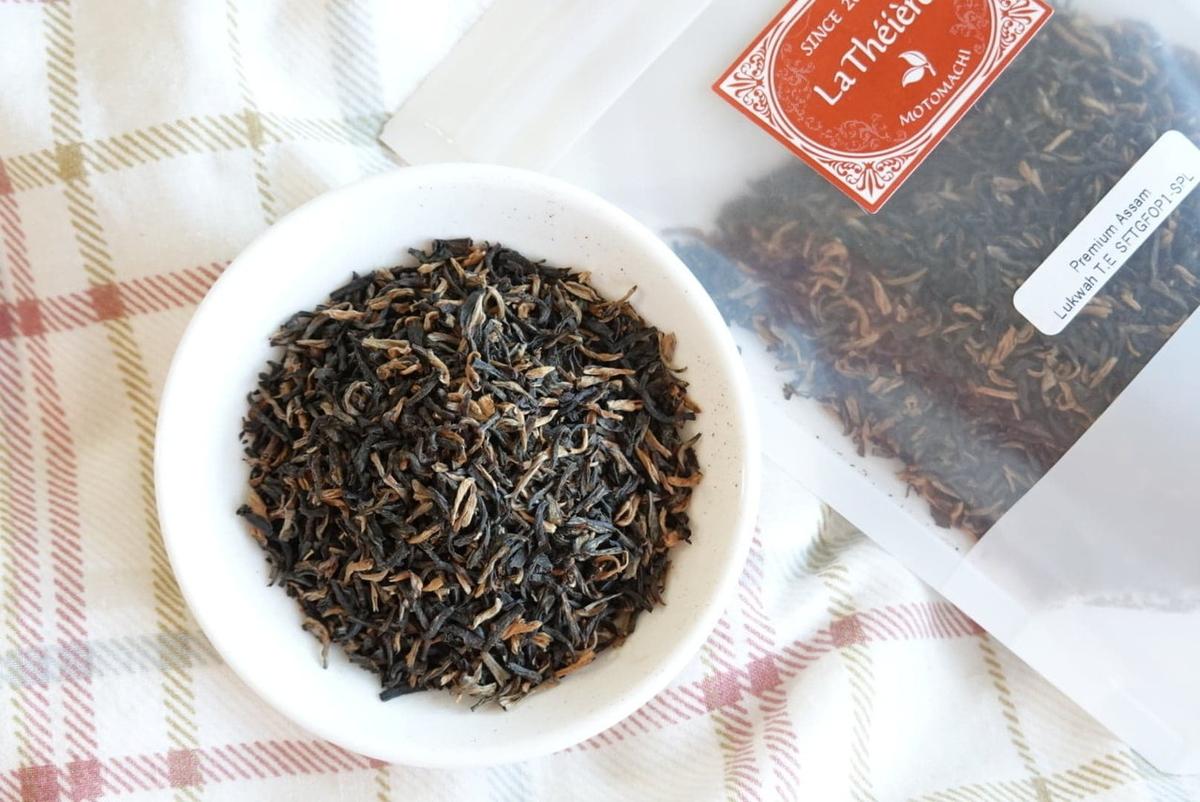 インド・プレミアムアッサムティー ルクワ茶園 SFTGFOP1(SPL)
