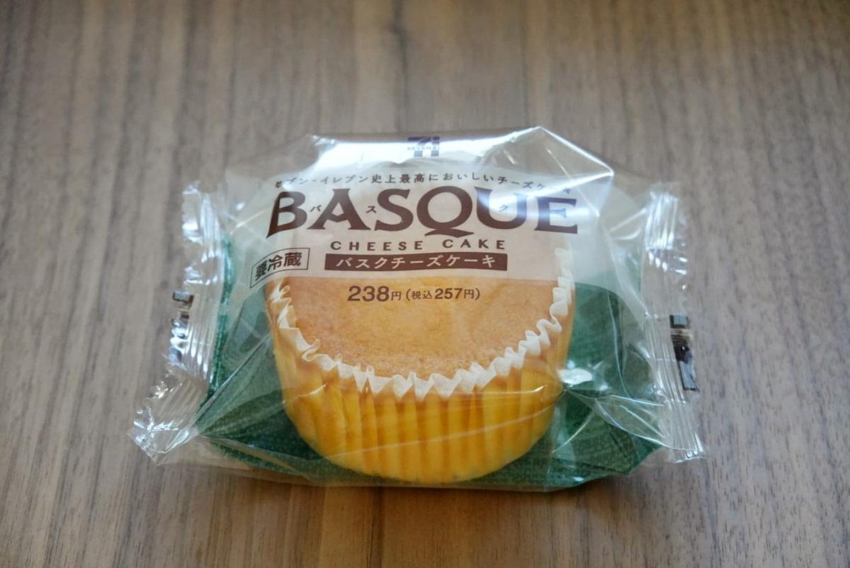 バスクチーズケーキ(セブンイレブン)