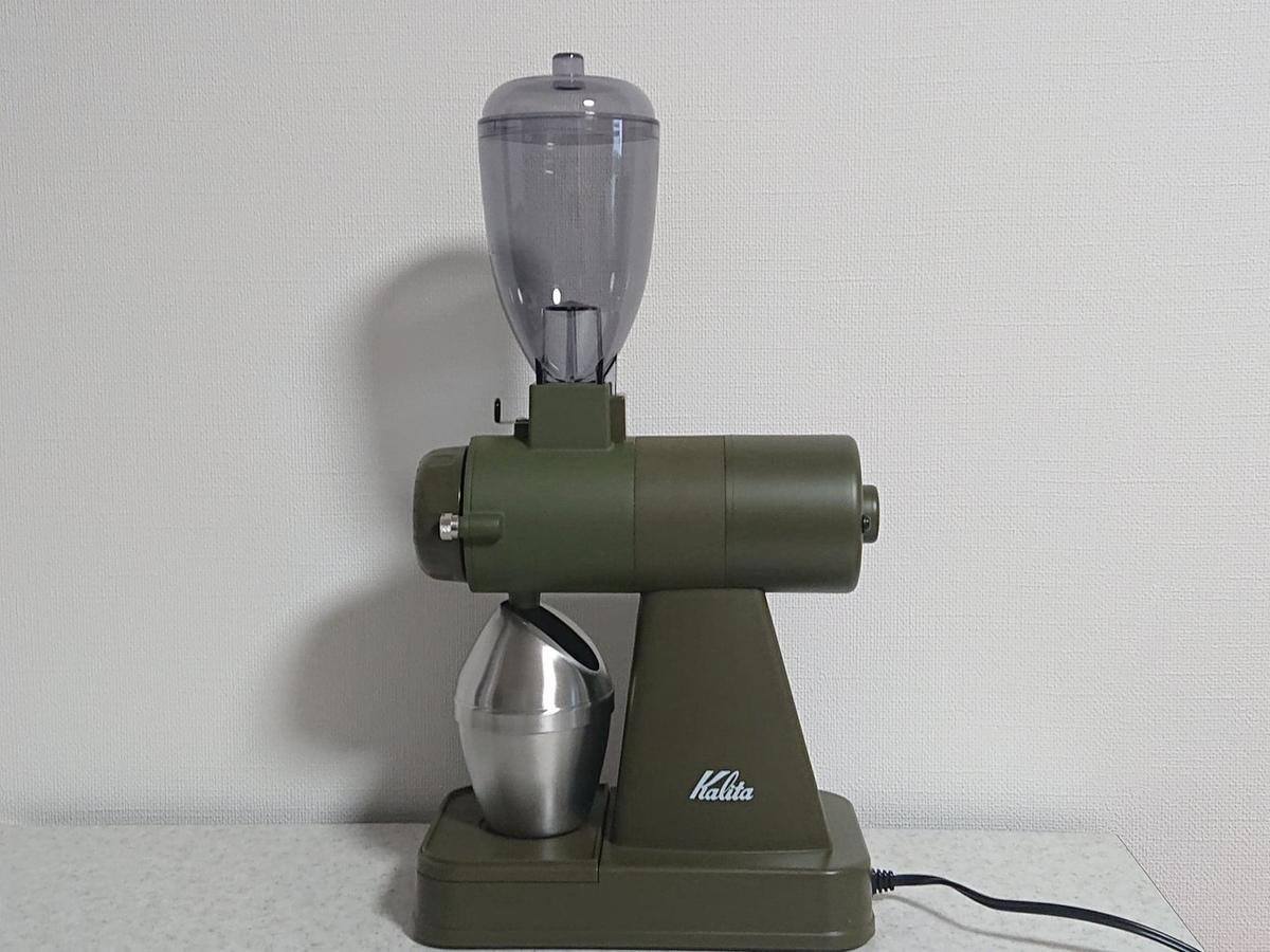 おうちハンドドリップコーヒーを楽しむ 電動グラインダー